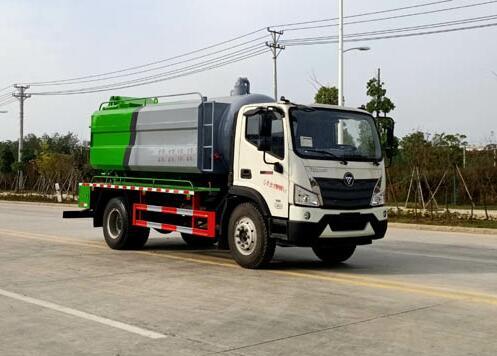 程力威牌CLW5121GQW6CF型清洗吸污车