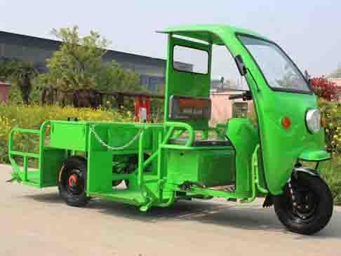 电动桶装垃圾车(1-8桶)