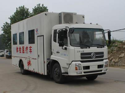 程力威牌CLW5080XYL5型体检医疗车