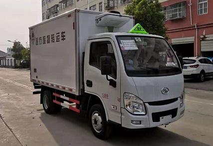 程力威牌CLW5030XYYSH6型医疗废物转运车