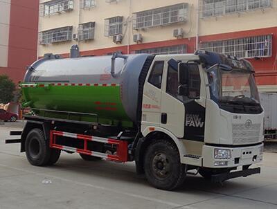 CLW5180GXWC6型吸污车