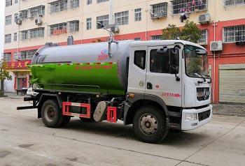 CLW5182GXWE6型吸污车