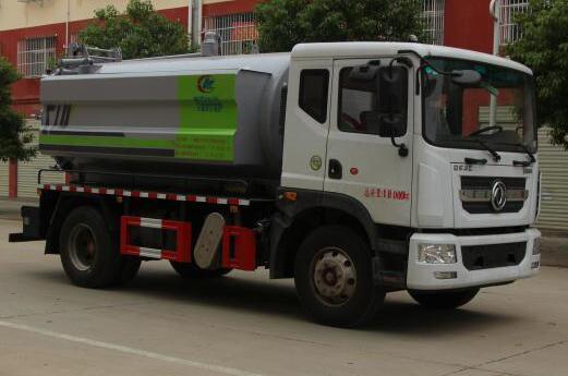 CLW5180GQW6型清洗吸污车