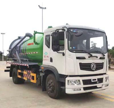 CLW5121GXW6CF型吸污车