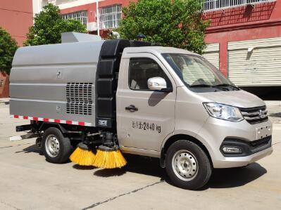 程力威牌CLW5030TSLS6型扫路车