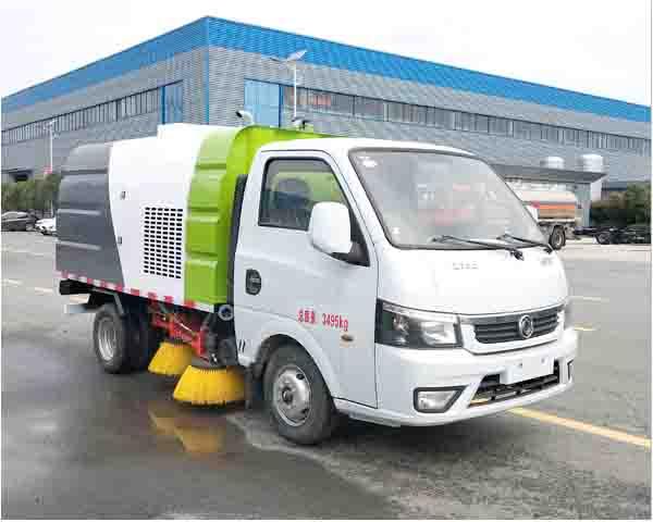 程力牌CL5030TSL6GH型扫路车
