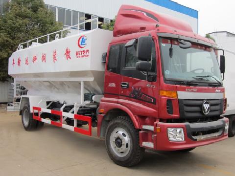 福田2轴散装饲料运输车